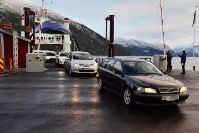 Stranda Ferry Pier has opened