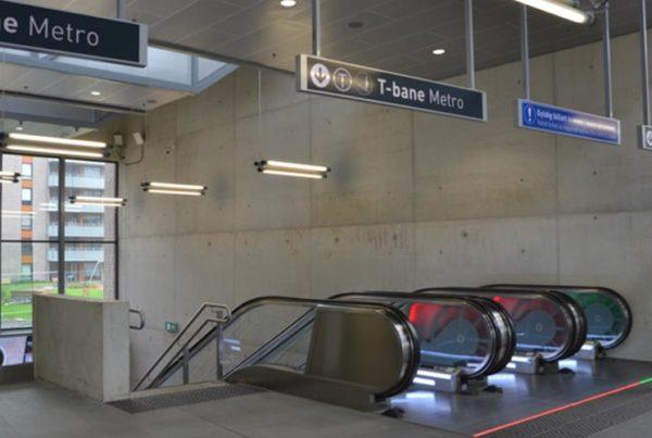 Løren Station is Betongtavlen (Concrete Award) 2017 finalist