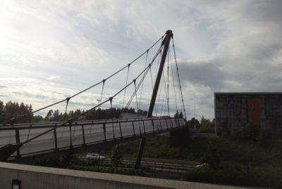 Lørenskog pedestrian bridge