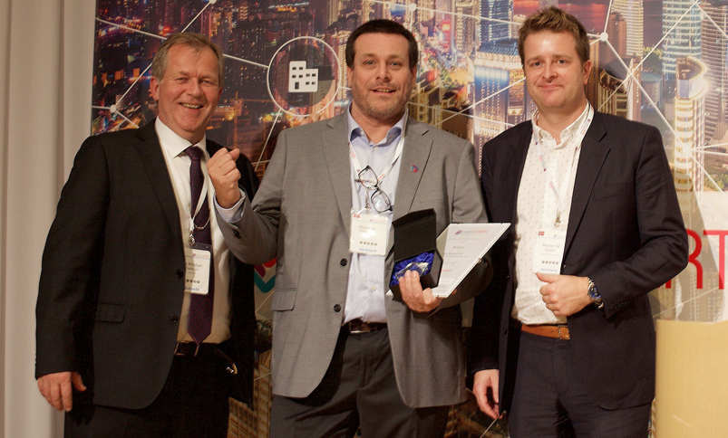 International BIM award to the Oslo Airport team