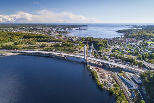 E18 Bommestad - Sky award for Construction of the Year