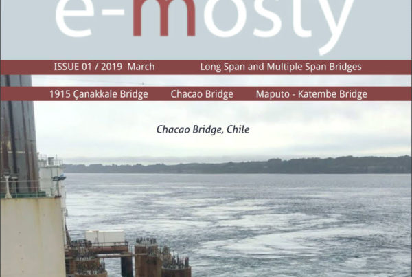 Aas-Jakobsen participates in two of the three featured projects in e-mosty's special edition on long-range bridges